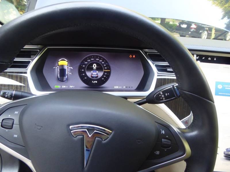 2013 Tesla Model S for sale at North Point Motorcars Inc. in Suwanee GA