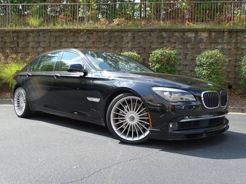 2012 BMW 7 Series for sale at North Point Motorcars Inc. in Suwanee GA