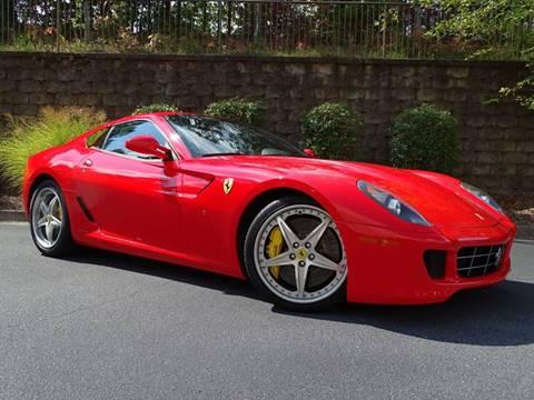 2008 Ferrari 599 GTB Fiorano for sale at North Point Motorcars Inc. in Suwanee GA