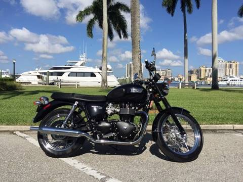 2013 Triumph Boneville t-100 for sale in West Palm Beach, FL