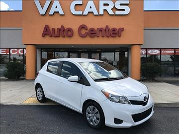 2014 Toyota Yaris for sale in Hopewell, VA