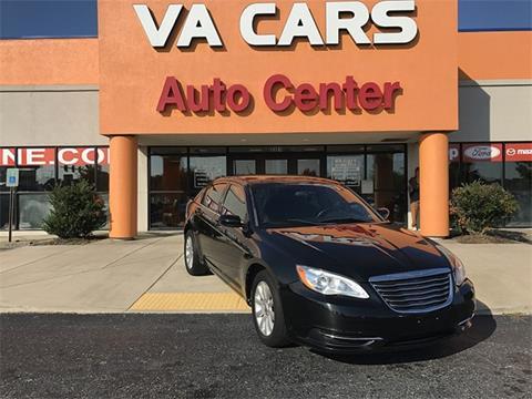 2012 Chrysler 200 for sale in Hopewell VA