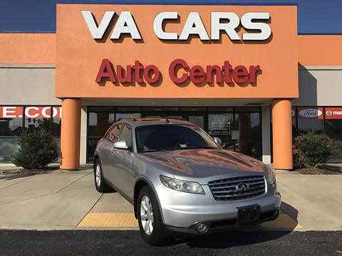 2004 infiniti fx35 for sale in indiana carsforsale 2004 infiniti fx35 for sale in hopewell va sciox Images