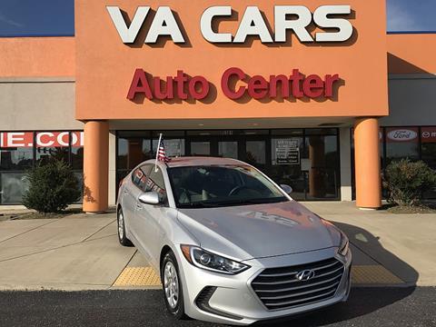 2017 Hyundai Elantra for sale in Hopewell VA