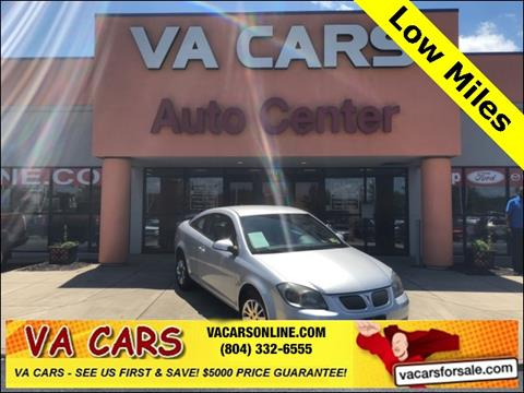 2009 Pontiac G5 for sale in Hopewell, VA