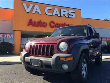2003 Jeep Liberty for sale in Hopewell, VA