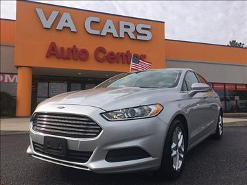 2013 Ford Fusion for sale in Hopewell, VA