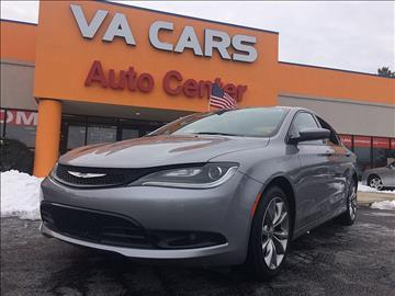 2015 Chrysler 200 for sale in Hopewell, VA