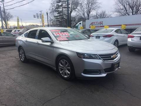 2016 Chevrolet Impala for sale in Hammond, IN