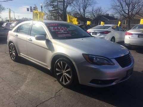 2012 Chrysler 200 for sale in Hammond, IN