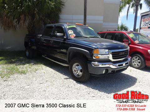 2007 GMC Sierra 3500 Classic for sale in Port Saint Lucie, FL