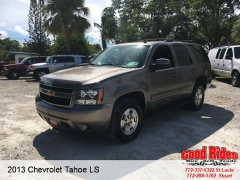 2013 Chevrolet Tahoe for sale in Port Saint Lucie, FL