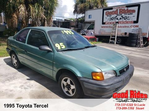 1995 Toyota Tercel for sale in Port Saint Lucie, FL
