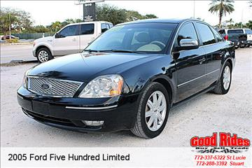 2005 Ford Five Hundred for sale in Port Saint Lucie, FL