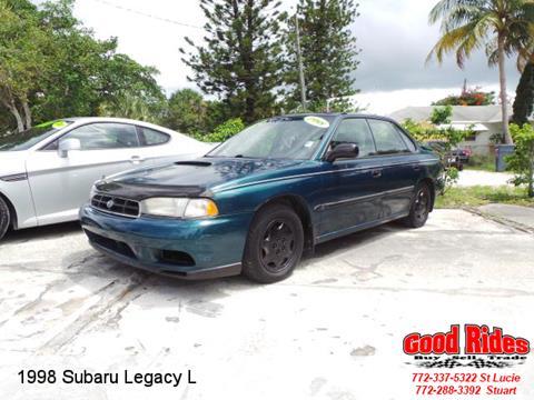 1998 Subaru Legacy for sale in Port Saint Lucie, FL