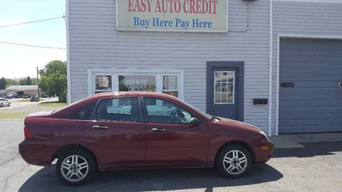 2007 Ford Focus for sale at EASY AUTO CREDIT in Van Wert OH