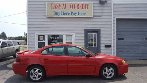 2004 Pontiac Grand Am for sale at EASY AUTO CREDIT in Van Wert OH