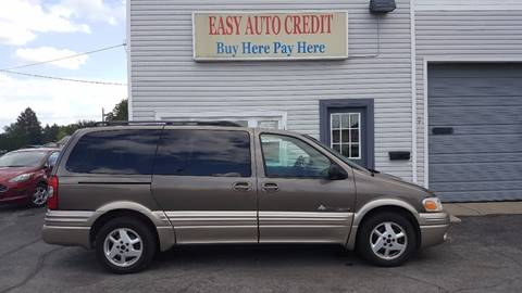 2004 Pontiac Montana for sale at EASY AUTO CREDIT in Van Wert OH