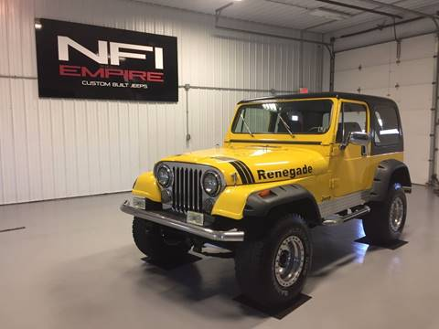 1983 Jeep CJ-7 for sale in North East, PA