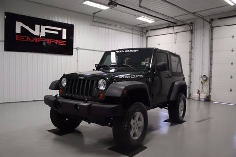 2010 Jeep Wrangler for sale in North East, PA