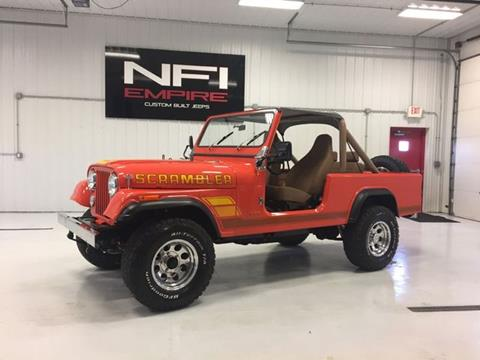 1982 Jeep Scrambler for sale in North East, PA