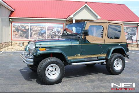 Jeep Wrangler Sahara For Sale >> 1994 Jeep Wrangler For Sale In North East Pa