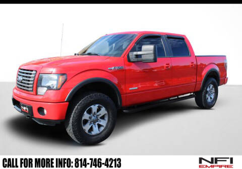 2011 Ford F-150 FX4 for sale at NFI Empire in North East PA
