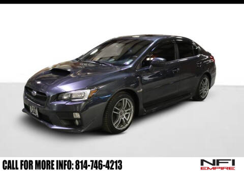 2015 Subaru WRX Limited for sale at NFI Empire in North East PA