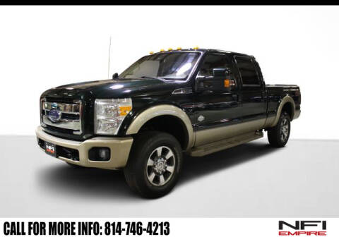 2012 Ford F-250 Super Duty King Ranch for sale at NFI Empire in North East PA