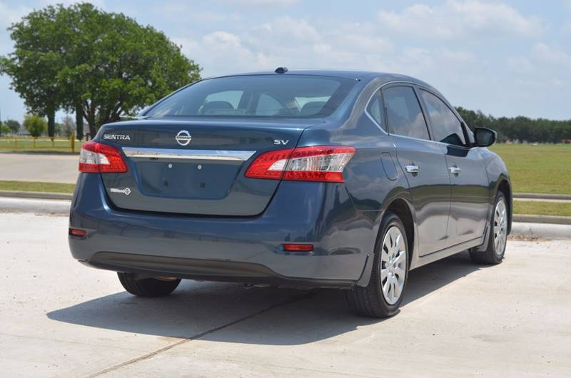 2015 Nissan Sentra for sale at TEXAS SHOWCASE in Houston TX