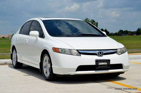 2007 Honda Civic for sale at TEXAS SHOWCASE in Houston TX