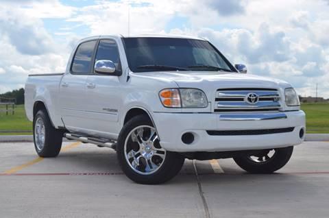 2004 Toyota Tundra for sale at TEXAS SHOWCASE in Houston TX