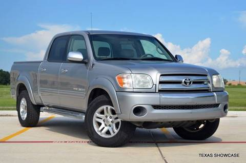 2005 Toyota Tundra for sale at TEXAS SHOWCASE in Houston TX