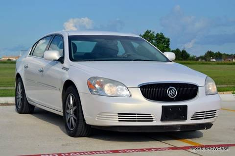 2006 Buick Lucerne for sale at TEXAS SHOWCASE in Houston TX