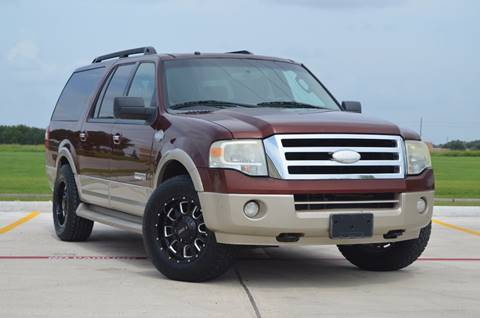 2008 Ford Expedition EL for sale at TEXAS SHOWCASE in Houston TX
