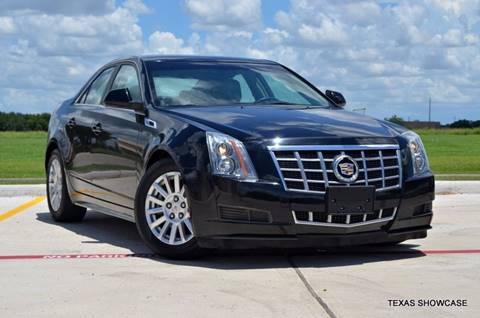 2012 Cadillac CTS for sale at TEXAS SHOWCASE in Houston TX