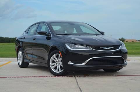 2015 Chrysler 200 for sale at TEXAS SHOWCASE in Houston TX