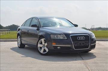 2006 Audi A6 for sale at TEXAS SHOWCASE in Houston TX