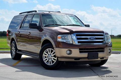 2011 Ford Expedition EL for sale at TEXAS SHOWCASE in Houston TX