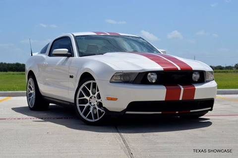 2012 Ford Mustang for sale at TEXAS SHOWCASE in Houston TX