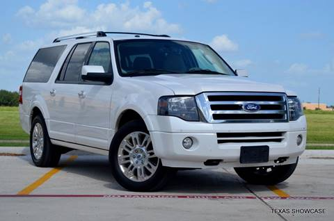 2013 Ford Expedition EL for sale at TEXAS SHOWCASE in Houston TX