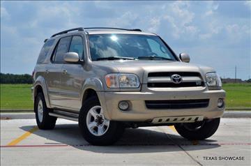 2007 Toyota Sequoia for sale at TEXAS SHOWCASE in Houston TX