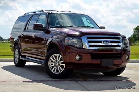 2012 Ford Expedition EL for sale at TEXAS SHOWCASE in Houston TX