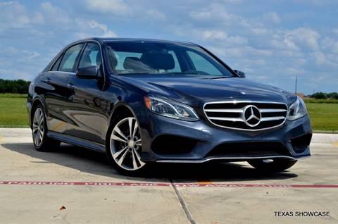 2014 Mercedes-Benz E-Class for sale at TEXAS SHOWCASE in Houston TX