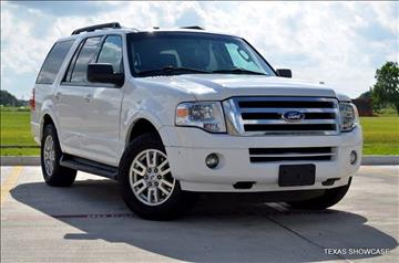 2014 Ford Expedition for sale at TEXAS SHOWCASE in Houston TX