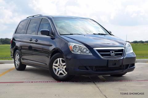 2007 Honda Odyssey for sale at TEXAS SHOWCASE in Houston TX