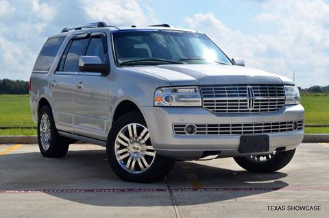 2010 Lincoln Navigator for sale at TEXAS SHOWCASE in Houston TX
