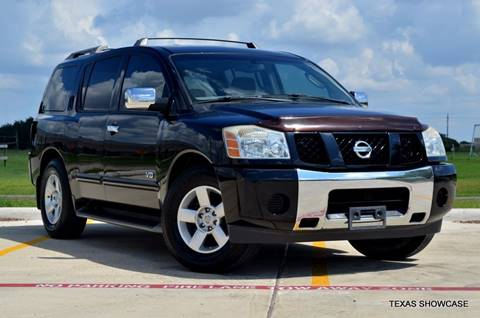 2005 Nissan Armada for sale at TEXAS SHOWCASE in Houston TX