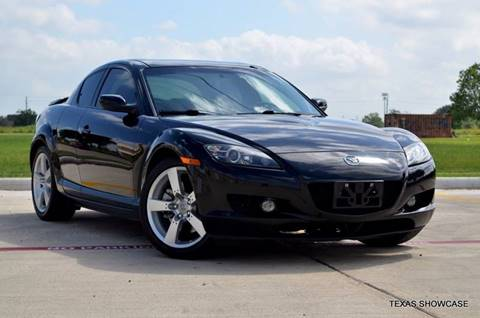 2006 Mazda RX-8 for sale at TEXAS SHOWCASE in Houston TX