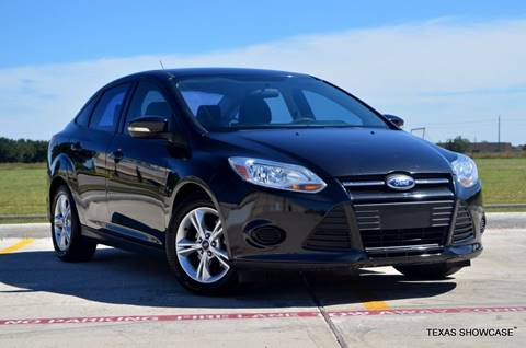 2014 Ford Focus for sale at TEXAS SHOWCASE in Houston TX